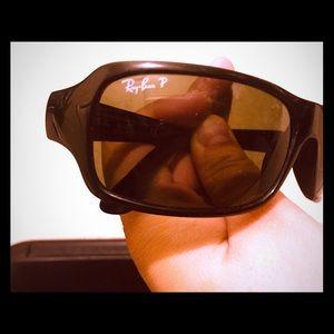 Ray bans black proactive sunglasses
